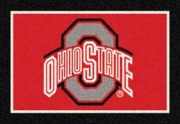 Ohio State University Buckeyes Collegiate Rugs and Mats